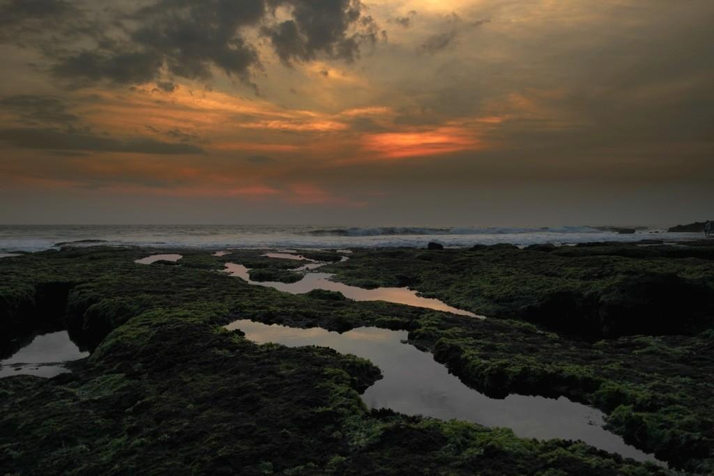 Bali – Monkey feeding und Sonnenuntergang