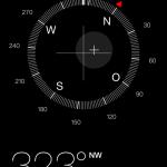 Kompass mit Wasserwaage