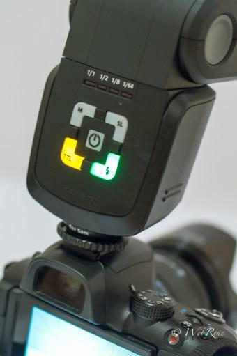 Review: Metz AF 44-1 für Samsung NX