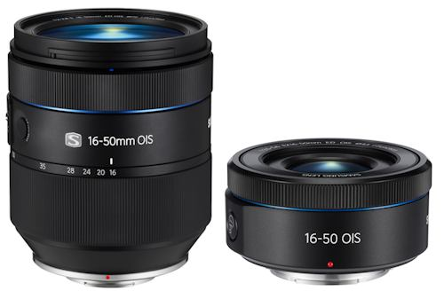 Samsungs announced professional NX lenses
