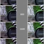 ISO Vergleich RAW