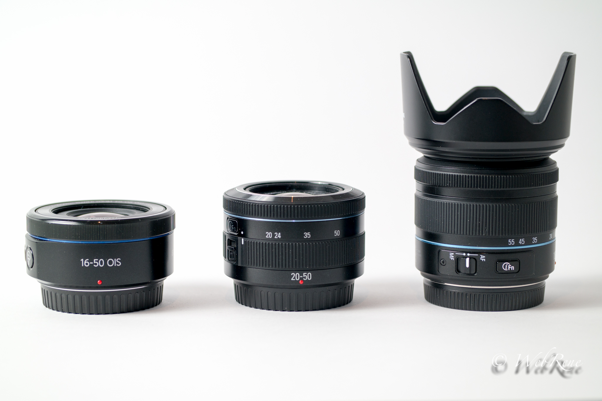 Samsung NX – 16-50mm vs. 18-55mm vs. 20-50mm