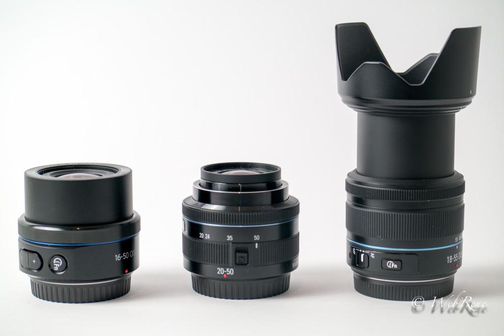 16-50 mm F3.5-5.6 PZ OIS | 20–50 mm F3,5–5,6 ED II | 18-55mm f3.5-5.6 OIS III